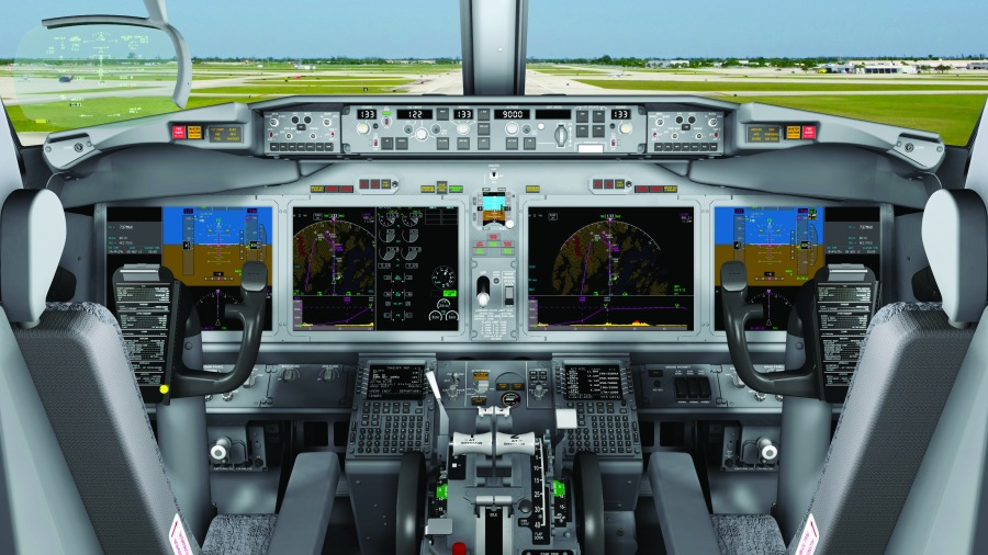 737 MAX Flight Deck Artwork